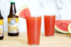 Picture of Homemade Watermelon Beer