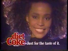 Whitney Houston [Diet Coke Commercial 1988]
