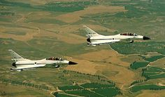 Rare photo two LAVI prototypes flying together. Greatest fighter never built