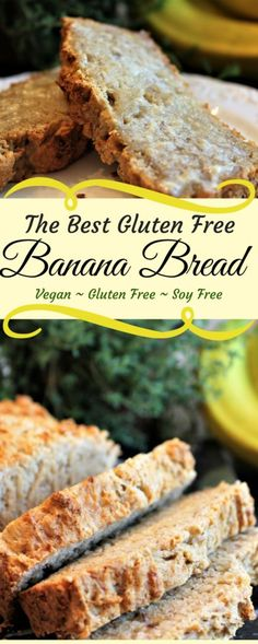 Gluten Free Vegan Banana Bread is a simple easy recipe that always comes out well. It is gluten free, vegan, and can be made soy free too. thehiddenveggies.com