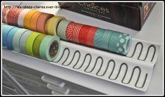 support de pot a epices ikea, pour les rubans adhesifs