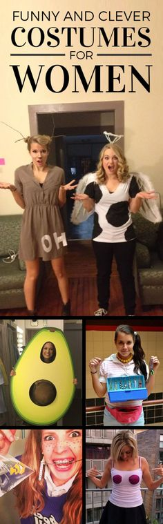 Such clever and funny costumes for women!