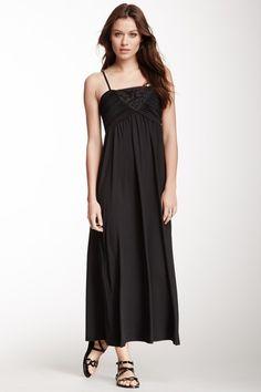 Sleeveless Embroidered Maxi Dress by Papillon on @HauteLook