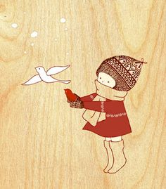 Prints by Naoko Stoop by naokosstoop Humor Grafico, Children's Book Illustration, Character Illustration, Bird Art, Cute Art, Bunt, Art For Kids, Art Projects, Character Design