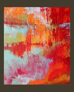 Original Painting Abstract Art Expressionist by LindaSuzStudios, $159.00 BTW... visit: http://artcaffeine.imobileappsys.com/