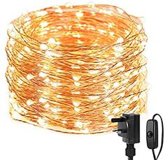 LE Fairy Lights Mains Powered, 20M 200 LED Warm White String Lights, Waterproof Copper Wire Lights for Indoor Outdoor, Wedding Decorations, Party, Bedroom, Garden and More: Amazon.co.uk: Lighting Christmas Fairy Lights, Christmas Tree, Stair Banister, Copper Wire Lights, White String Lights, Dressing Table Mirror, Outdoor Wedding Decorations, Led, Creative Decor