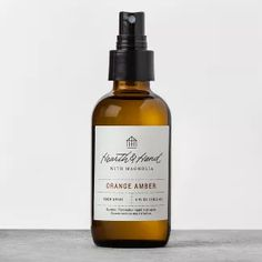 Hearth & Hand With Magnolia Room Spray Amber Room, What Is The Secret, Chip And Joanna Gaines, Wooden Stools, Air Freshener, Home Staging, Hearth, Whiskey Bottle, Bubbles