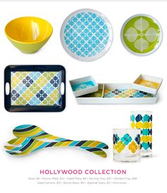 Collection of Melamine dinnerware from JA that I created artwork for ...