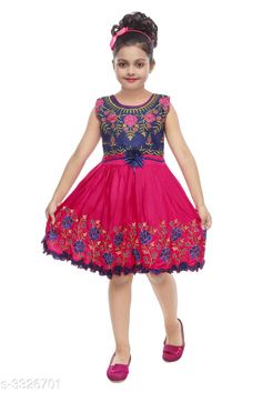 Checkout this latest Frocks & Dresses Product Name: *Elegant Girl's Frock* Sizes: 1-2 Years, 2-3 Years, 3-4 Years, 4-5 Years, 5-6 Years, 6-7 Years Easy Returns Available In Case Of Any Issue   Catalog Rating: ★4 (4389)  Catalog Name: Cuteness Elegant Girl'S Frocks Vol 5 CatalogID_460388 C62-SC1141 Code: 872-3326701-936