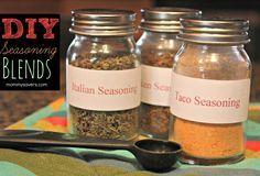 DIY: Homemade Seasoning Blends - Mommysavers.com | Online Coupons & Savings