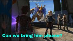 Dragons: Race to the Edge - Astrid Brings Garff To The Edge