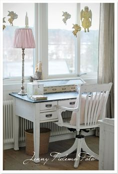 1000 images about french cottage office on pinterest for Cottage office design