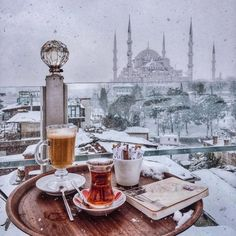 "markovices: ""Tea time, Istanbul "" ∘ pinned by: michaeljaimie ∘ ∘ Istanbul Travel, Visit Istanbul, Turkish Tea, Blue Mosque, Hagia Sophia, Just Dream, Turkey Travel, Travel Aesthetic, Beautiful Interiors"