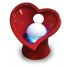 Diffuseur d'huiles essentielles Coeur rouge -  45,99 € - www.ac-deco.com #red #coeur #heart #love #amour #cadeau