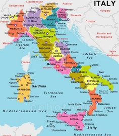Map Of Southern Italy Regions.National Geographic Map Of Southern Italy And Sicily Southern