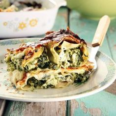 Vegetarisk lasagne – enkelt recept Raw Food Recipes, Veggie Recipes, Cooking Recipes, Healthy Recipes, Chicken Recipes, Dinner Recipes, I Love Food, Good Food, Yummy Food