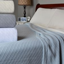 Ringspun Cozy Cotton Blanket $75.00 - $115.00