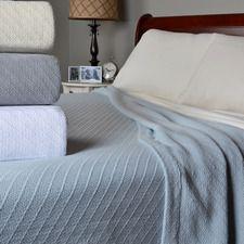 Ringspun Cozy Cotton Blanket $75.00 - $115.00