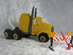 Häkelanleitung LKW Truck - Häkelanleitungen bei Makerist