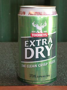 TOOHEYS EXTRA DRY FESTIVAL RELEASE CAN