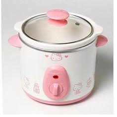 Hello Kitty crockpot??? For me? Yep.
