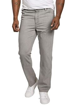 Men's Big and Tall Relaxed Tapered Fit Side Elastic 5-Pocket Jeans, *** Click on the image for additional details. (This is an affiliate link) #elasticwaist Mens Big And Tall, Elastic Waist, Sweatpants, Pocket, Link, Image, Fashion, Moda, La Mode