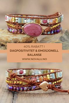 Crystal Jewelry, Gemstone Jewelry, Beaded Jewelry, Beaded Bracelets, Wrap Bracelets, Jewelry Necklaces, Bangles, Metallic Leather, Tan Leather