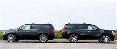 2012 #Cadillac #Escalade #Hybrid vs. 2012 SLP Escalade Supercharged Sport Edition
