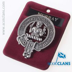 Clan Murray Cap Badg