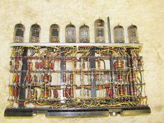 Historic 1950s IBM  Mainframe Computer Pluggable Unit With Vacuum Tubes     #1 #IBM