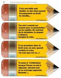 #Ecriture - le #narratif   #français