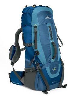 High Sierra Hawk 40 Internal Frame Hiking Backpack