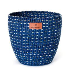 Explore our collection of African baskets! Colourful, fair trade and vegan, our baskets are handcraf Knit Basket, Storage Baskets, Handmade Items, Traditional, Fair Trade, Collection, Ghana, Farmers Market, Tote Bags