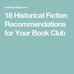 18 Historical Fictio