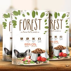 pet food packaging design - Google Search
