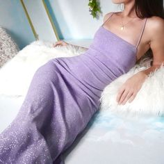 overall jean outfit Cheap Purple Dresses, Pretty Dresses, Beautiful Dresses, Purple Grad Dresses, Elegant Dresses, Purple Evening Dress, Summer Dress, Evening Dresses, Lilac Dress Long
