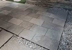 Tiles Kavalas Slate (sawn cut)   Akrolithos Thasos, Crazy Paving, French Pattern, Flat Rock, House Information, Garden Steps, Grey Tiles, Alexander The Great, Wall Cladding