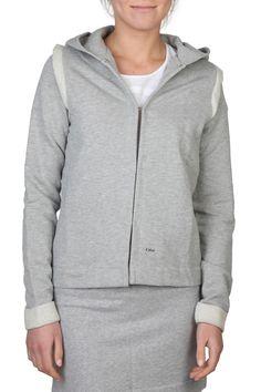 Chloe Sweat Jacket In Gray