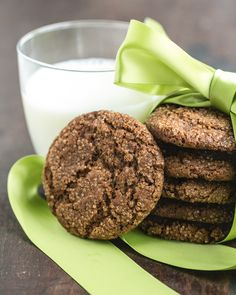 "Remember our healthy cookies from last week? In general, we love to make desserts that are on the ""light"" side, even if it involves adding non-traditional"