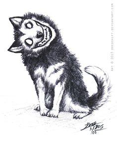 SmileD0g sketch by DREDSHIFT on DeviantArt