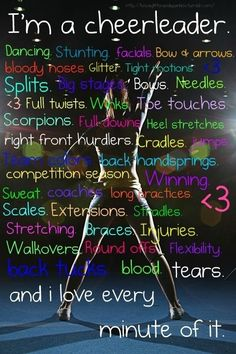 35 Things Every Cheerleader Will Understand
