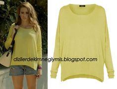 Medcezir - Mira (Serensay Sarıkaya), Yellow Sweater