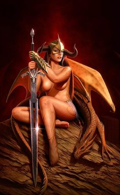 Warrior Lady_NickDeligaris