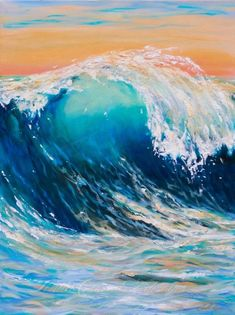 30 God Level Oil Pastel Drawings - Buzz 2018 - help and hope guide - Art Oil Pastel Paintings, Oil Pastel Drawings, Oil Pastel Art, Oil Painting Flowers, Oil Pastels, Wave Paintings, Drawing With Pastels, Paintings On Canvas, Sunset Paintings