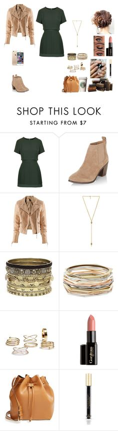 """""""The Twin Alpha's #17"""" by jazmine-bowman on Polyvore featuring Topshop, New Look, H&M, Ettika, Daytrip, Kendra Scott, Gorgeous Cosmetics, Sole Society and Victoria's Secret"""