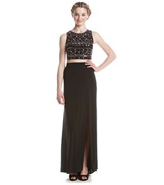 Carvian Womens V Neck Chiffon Sleeveless Long Evening Prom Dress