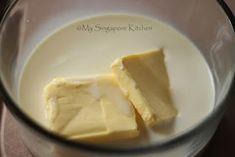 My Singapore Kitchen........: Basic Vanilla Sponge Cake Hot Milk Sponge Cake Recipe, Vanilla Butter Cake Recipe, Vanilla Sponge Cake, Sponge Cake Recipes, Pound Cake Recipes, Easy Cake Recipes, Beignets, Easy Vanilla Cupcakes, Victoria Sponge Cake