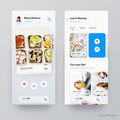 Tinder for Food 🍽 Don't forget to follow, #luovastudio7 #appdesign #uxdeveloper #tinderfoodapp #tinder #appexploration #interactiondesign… Mary Watson, Tinder App, Application Design, Interactive Design, Ui Ux, Ui Design, Starbucks, Don't Forget, Action