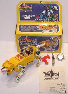 VOLTRON YELLOW LION