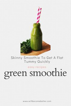 But for losing weight, smoothies tend not to be a good choice because they're liquids. Calories in liquid form have less satiety, or hunger-curbing power, than calories in solid form. Certain smoothie have fat-burning and metabolism-boosting abilities and adding them into your diet can help magnify weight-loss efforts. #cleansmoothierecipes #dietsmoothie #weightlosssmoothies Smoothie Cleanse, Smoothie Recipes, Losing Weight, How To Lose Weight Fast, Boost Metabolism, Flat Tummy, Weight Loss Smoothies, Fat Burning, Easy Meals